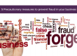 Five precautionary measures to prevent fraud in your business